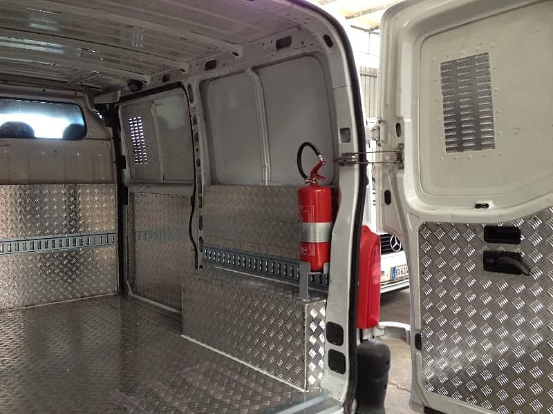 Обшивка фургона аллюминий в Киеве