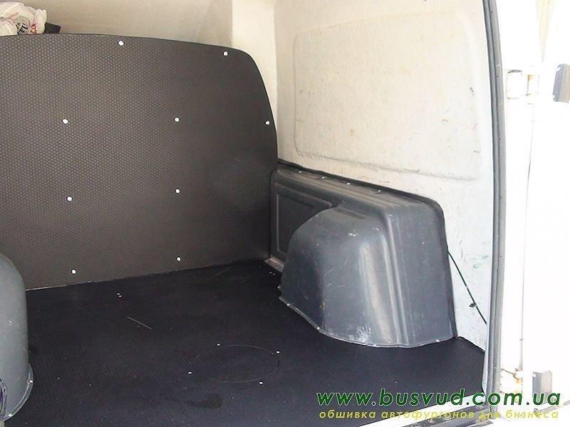 Обшивка грузового отсека фургона